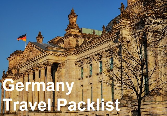The Ultimate Germany Travel Packing Checklist