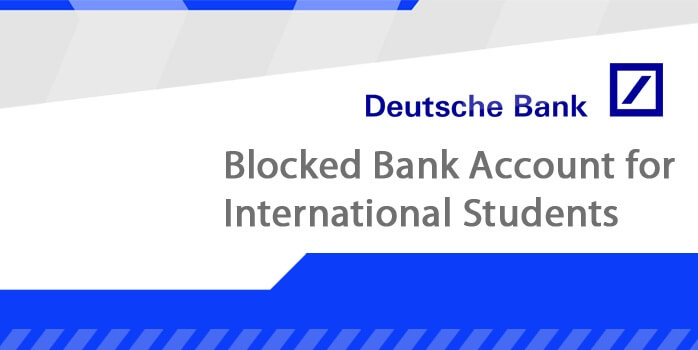 Opening a bank account/blocked account for foreign students in Germany