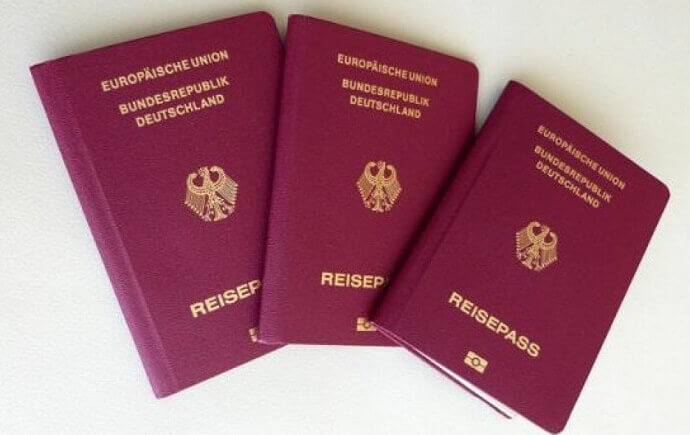 German Passport Holders Can Visit 188 Countries Without a Prior Visa
