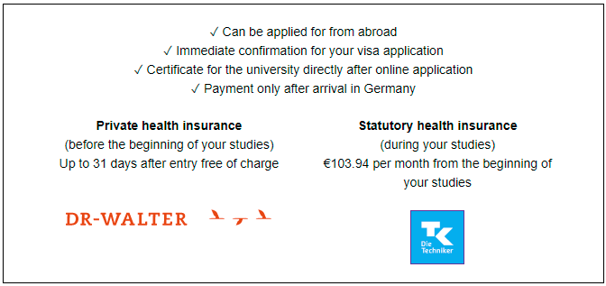 How to Get Free Health Insurance for International Students in Germany and for Germany Study Visa Application